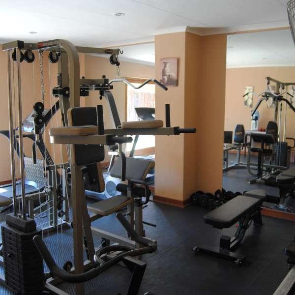 Simbambili Game Lodge Gym