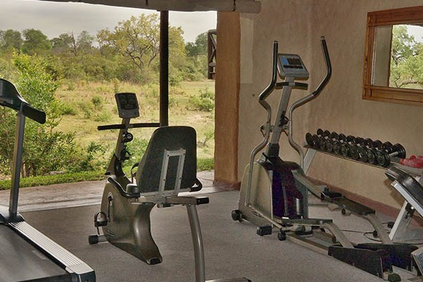 Lukimbi Lodge Gym View Experience