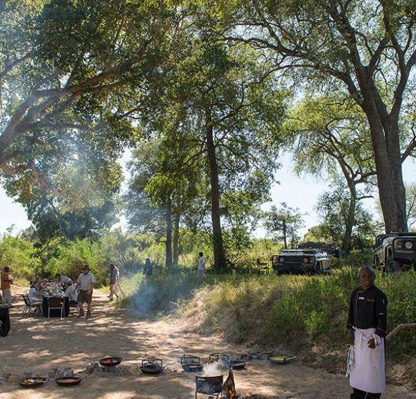 Tintswalo Manor House Bush Dining