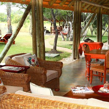 Tintswalo Manor House Verandah Seating