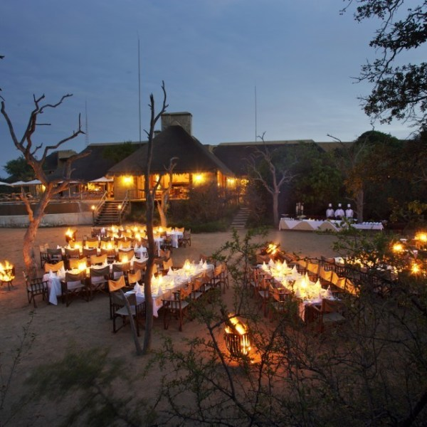 Kapama River Lodge Boma View