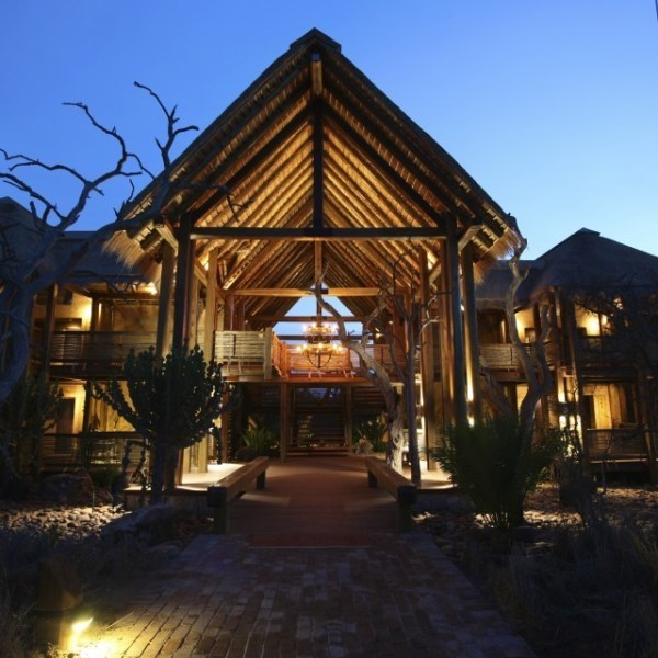Kapama River Lodge Lodge Entrance View