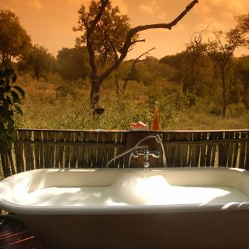 Chapungu Luxury Tented Camp Bath View