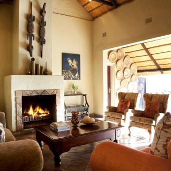 Chapungu Luxury Tented Camp Lounge