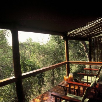 Chapungu Luxury Tented Camp Tent Deck
