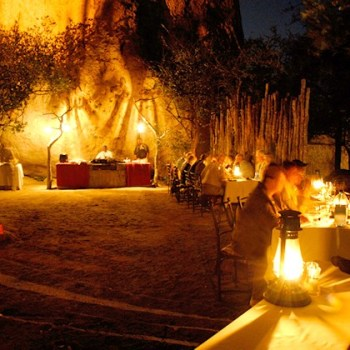 Manyatta Rock Camp Boma Dining