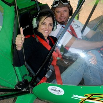 Manyatta Rock Camp Microlight Safari Experience