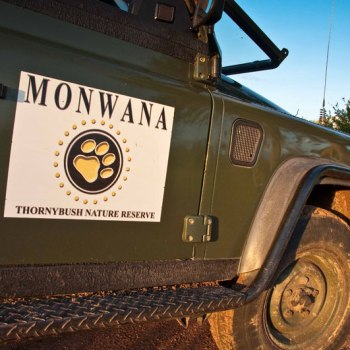 Monwana Game Lodge Game Drive Vehicle