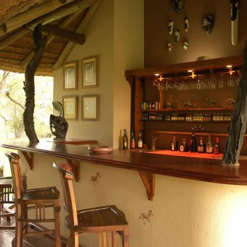 Nkaya Game Lodge Bar Area