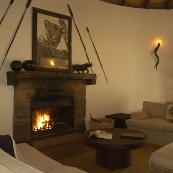 Serondella Game Lodge Family Suite Lounge