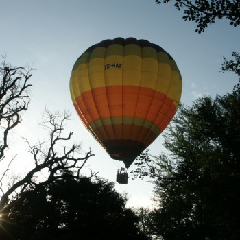 Shumbalala Game Lodge Hot Air Baloon Safaris