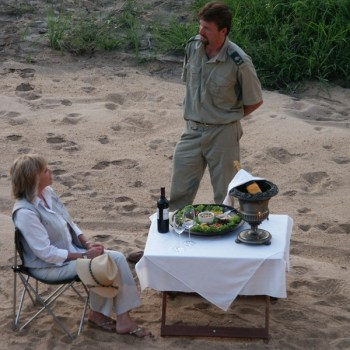 Shumbalala Game Lodge Outdoor Dining