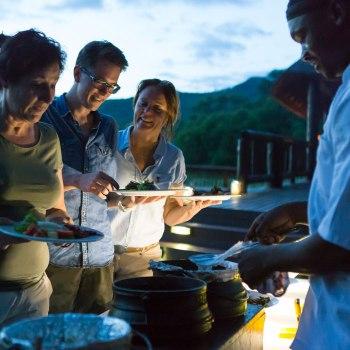 Sefapane River Lodge Dining