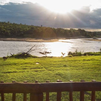 Sefapane River Lodge Lodge View