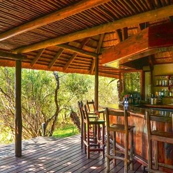 Waterbuck Game Lodge Bar Area