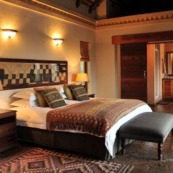 Waterbuck Game Lodge Suite Bedroom