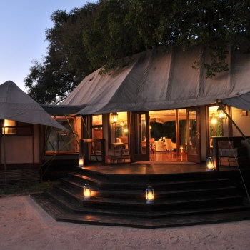 Hamiltons Tented Camp Exterior