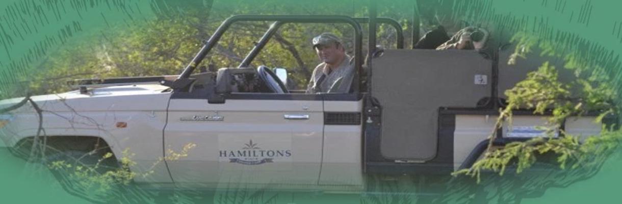 Hamiltons Tented Camp Game Safari Drives
