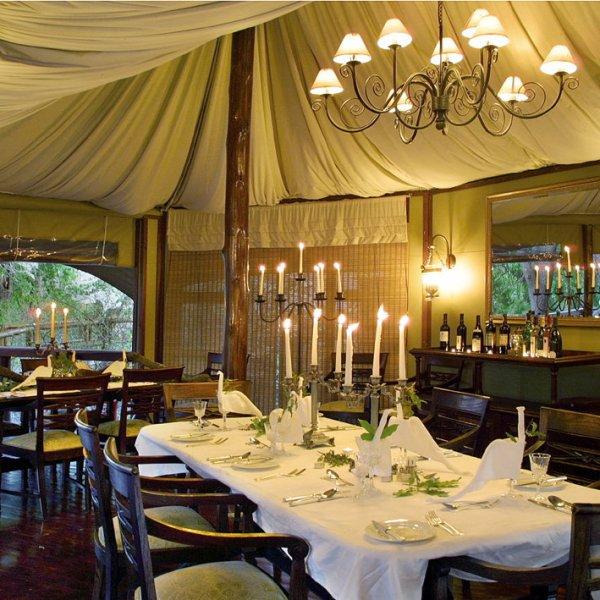Hamiltons Tented Camp Restaurant