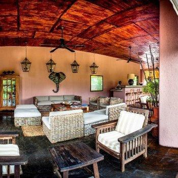 Honeyguide Mantobeni Camp Open Lounge