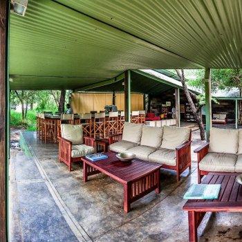 Honeyguide Mantobeni Camp Tented Lounge
