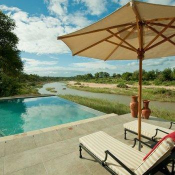 Kitara Tan Beds by the Pool