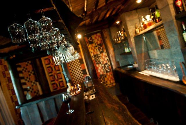 Nzumba Close Up of Bar