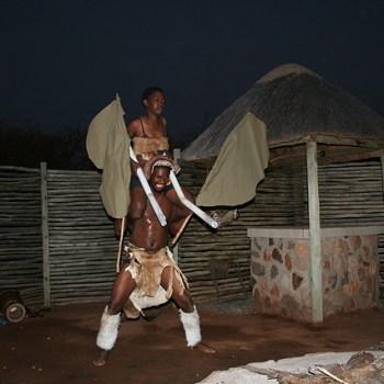 Baluleni Safari Lodge Cultural Dance