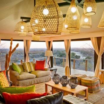 Machaton Private Camp Lounge Area