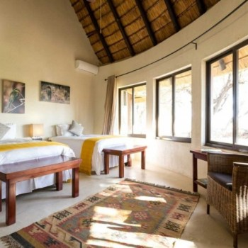Amani Safari Camp Colorful Room