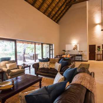 Amani Safari Camp Lounge Area