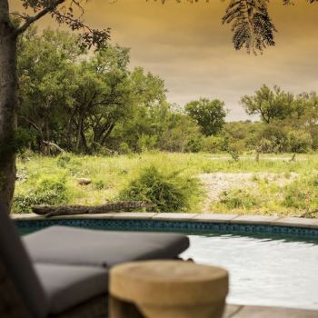 Amani Safari Camp Pool View