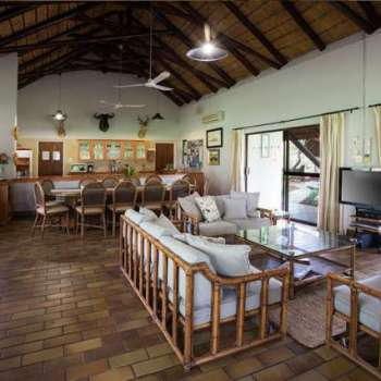 Amani Safari Camp TV Lounge