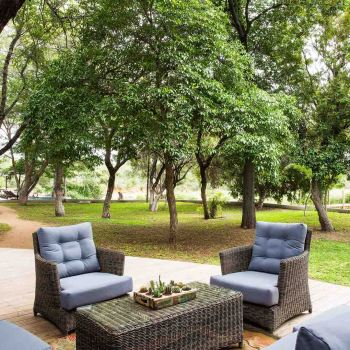 Amani Safari Camp Outdoor Seating