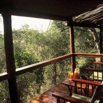 Chapungu Luxury Tented Camp Deck Seating