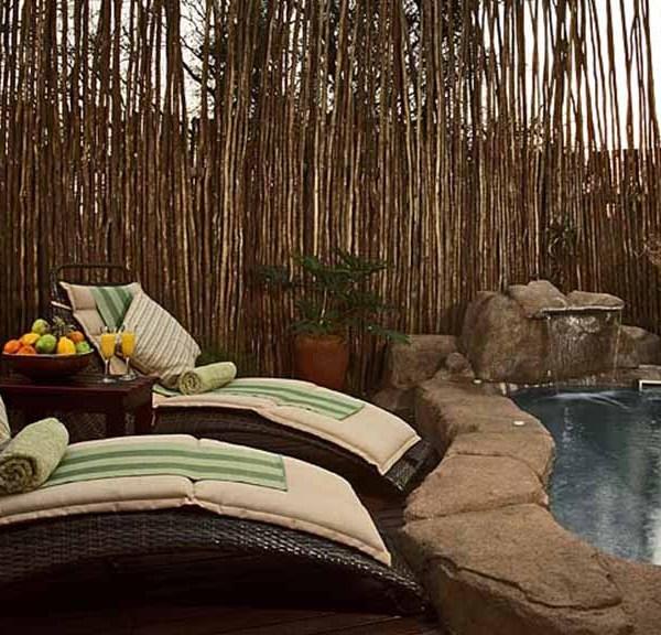 Serondella Game Lodge Spa Private Pool Seating