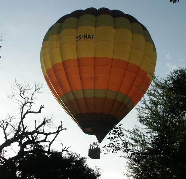 Thornybush Game Lodge Balloon Safari