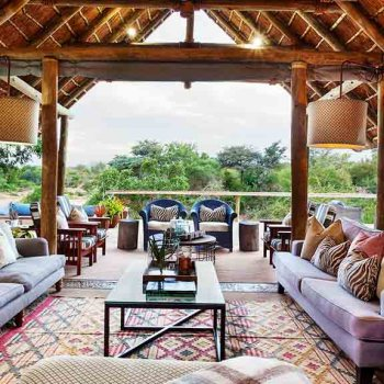 Thornybush Game Lodge Lodge Lounge