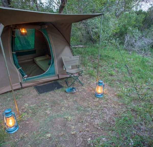 Bateleur Mobile Camp Dome Tent Exterior
