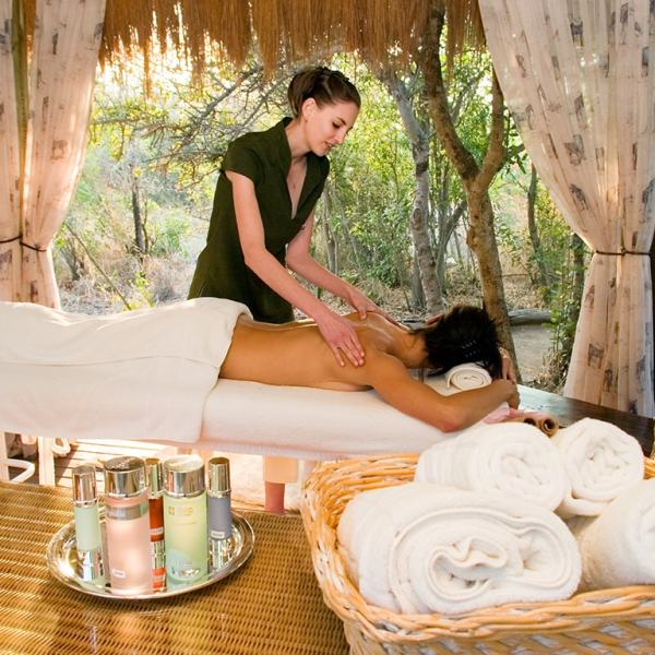 Camp Jabulani Massage Treatment