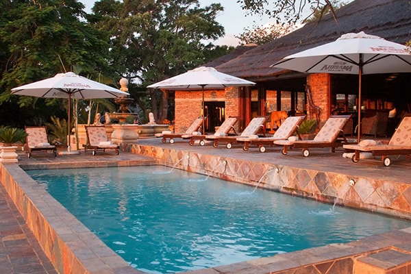 Elandela Private Game Reserve Pool