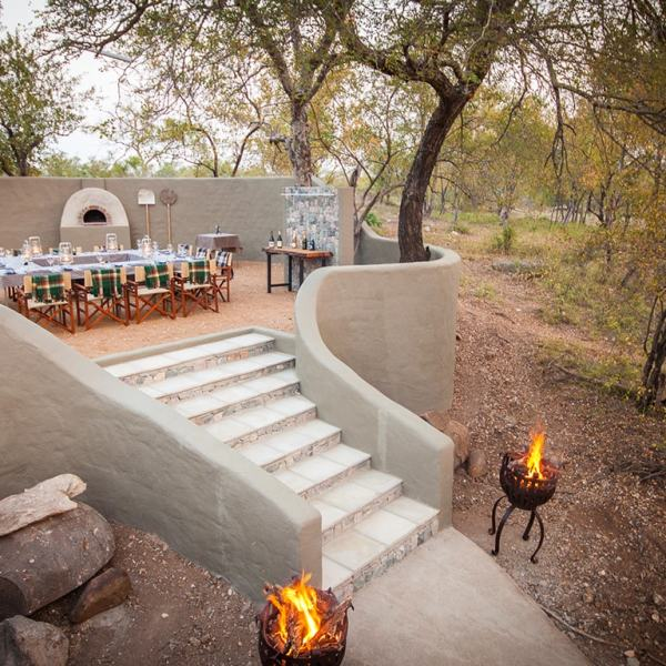 Garonga Safari Camp Outside Dining