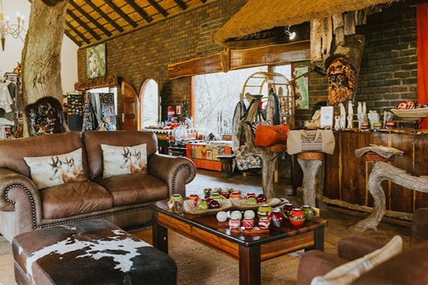 Mohlabetsi Safari Lodge Lounge