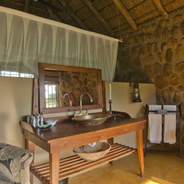 Motswari Geiger's Camp Private Bedroom Bathroom