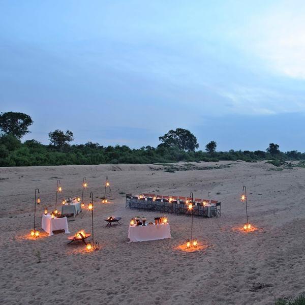 Ngala Tented Camp Bush Dining