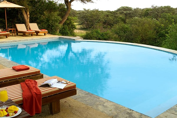 Nkelenga Tented Camp Pool