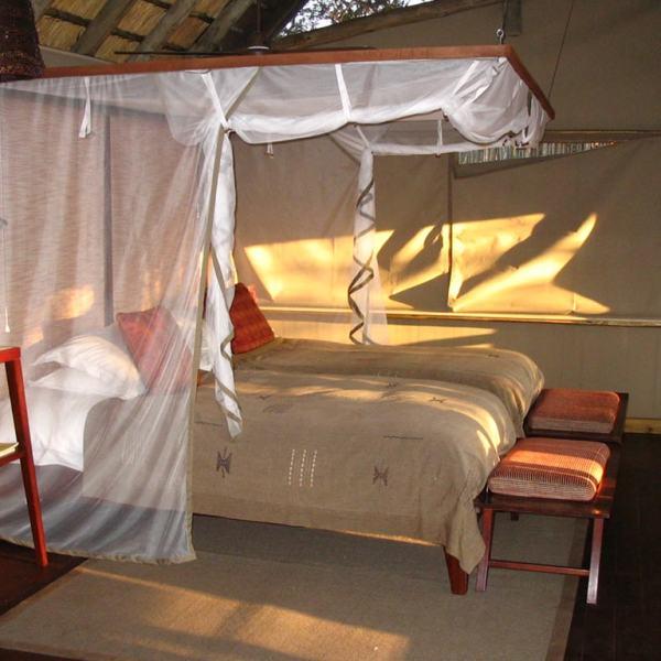 Rhino Post Safari Lodge Twin Room