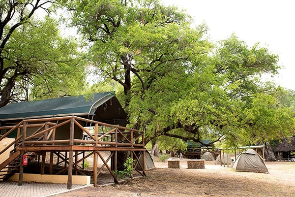 Sefapane Lodge Tent Exterior