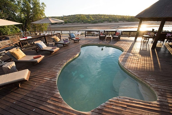 Sefapane River Lodge Pool