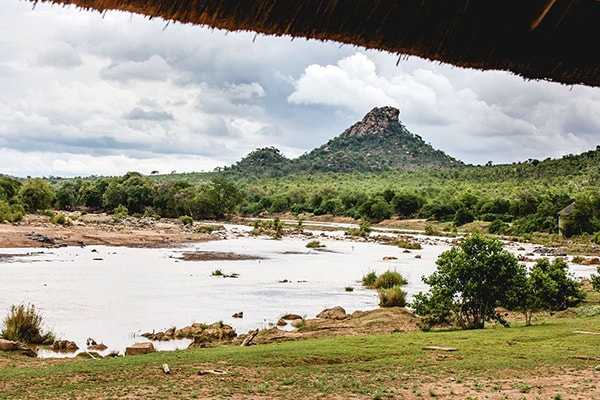 Sefapane River Lodge View
